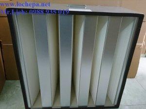 HEPA V bank- H13 lọc khí siêu sạch
